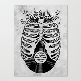 Til Death do us part. (v1) Canvas Print