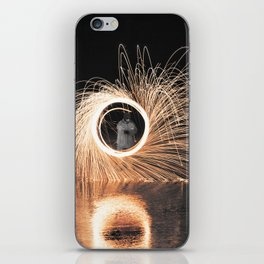 Fire Spinner iPhone Skin