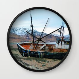 Shipwreck Wall Clock