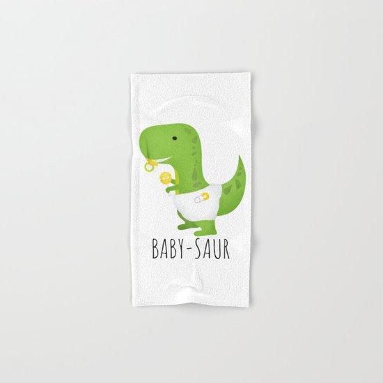 Baby-saur Hand & Bath Towel