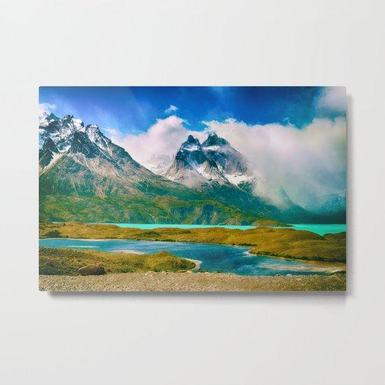 Earth, Water, Air Metal Print