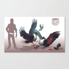 Pokemon-Honchkrow Canvas Print