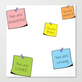 You are reminders Canvas Print