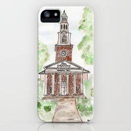 Memorial Hall, Lexington, Kentucky, UK iPhone Case