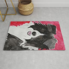Border Collie Rug