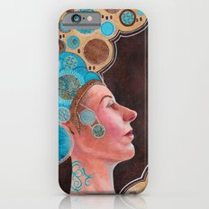 Queen in Gold and Teal iPhone 6s Slim Case