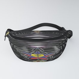 """""""Beez Lee Art : Wish Upon A Circle Star"""" Fanny Pack"""