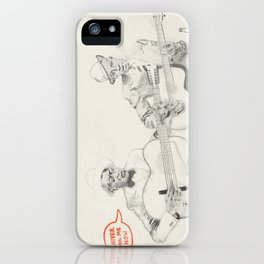Leadbelly and Robert Johnson iPhone Case