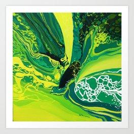mad sea Art Print