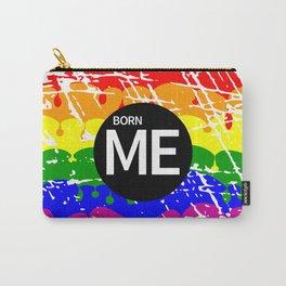 Freedom flag Rainbow Born Me Carry-All Pouch