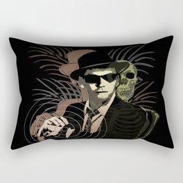 G-Man on Holiday Rectangular Pillow