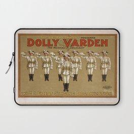 Vintage poster - Dolly Varden Laptop Sleeve