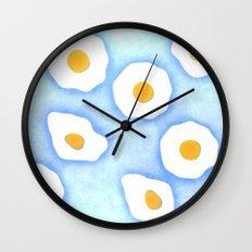 Egg pattern Wall Clock