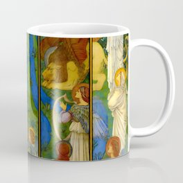 """Edward Burne-Jones """"Paradise, with the Worship of the Holy Lamb"""" Coffee Mug"""