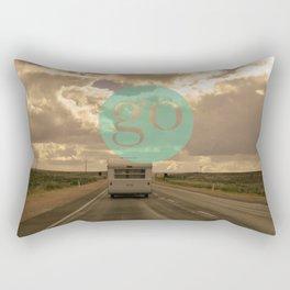 go play Rectangular Pillow