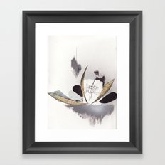 Stripping Away The Layers Framed Art Print
