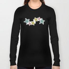 starfish tropical print Long Sleeve T-shirt
