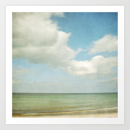 sea square IV Art Print