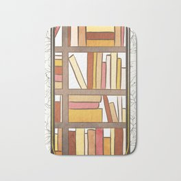 THE LIBRARY Bath Mat