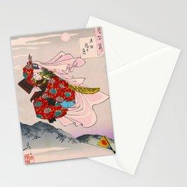 Tsukioka Yoshitoshi - Top Quality Art - USHIWAKAMARU Stationery Cards