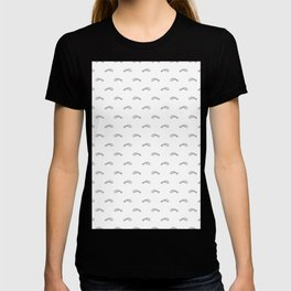 Black Edged Fishbones Skeleton T-shirt