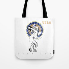 UCLA ...let there be light Tote Bag
