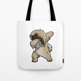 Funny Dabbing Pekingese Dog Dab Dance Tote Bag