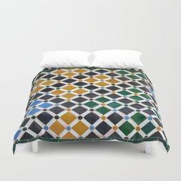 Alhambra Tiles Duvet Cover