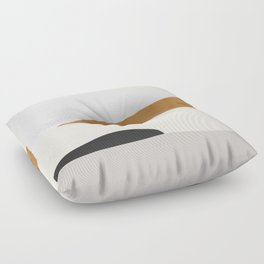 Minimal Art Landscape 2 Floor Pillow