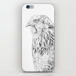 she's a beauty drawing iPhone Skin