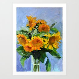 Sunflowers # 2 Art Print