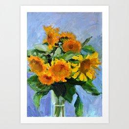 Sunflowers # 2 Art Print