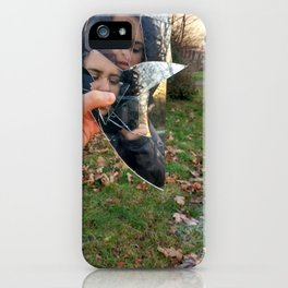 Graveyard play iPhone Case