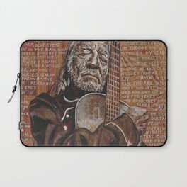 Willie's Guitar Laptop Sleeve