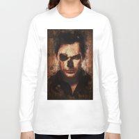 dexter Long Sleeve T-shirts featuring Dexter by Sirenphotos