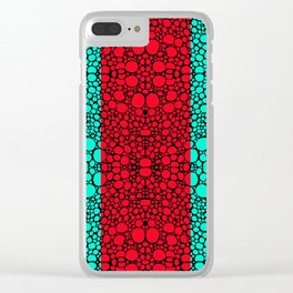 Pattern 40 - Intricate Exquisite Pattern Art Prints Clear iPhone Case