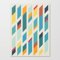 quilt Canvas Prints featuring Quilt by Evan Hinze