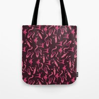 ballet Tote Bags featuring Ballet by S. Vaeth