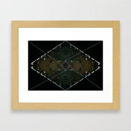 vivid people Framed Art Print