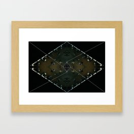 vivid people Framed Art Print