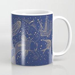 Ocean Meets Sky Hard Case Coffee Mug