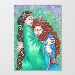 Merida and Elinor (version 2) Canvas Print