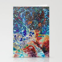 splatter Stationery Cards featuring Splatter by Stephen Linhart