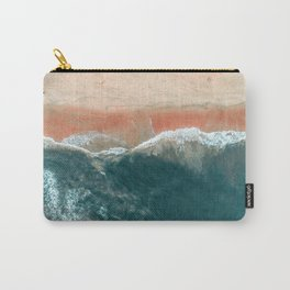 Tropical Drone Beach Photography Carry-All Pouch