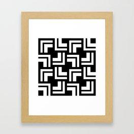 Black and White - L1 Framed Art Print