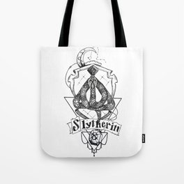 The Cunning House of Slytherin Tote Bag
