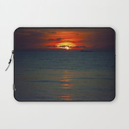 Fire in the Sea Laptop Sleeve