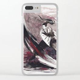 Samurai Clear iPhone Case