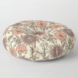 Mutant Helianthus No3 Autumn Sun Floor Pillow