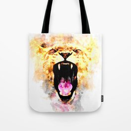perfect african lioness Tote Bag